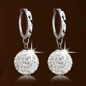 Image of Crystal Earrings