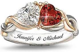 Picture of a Personalized Ring.